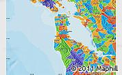 Political Map of ZIP code 94066