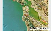 Satellite Map of ZIP code 94066