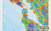 Political Map of ZIP code 94080