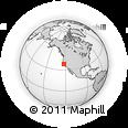 Outline Map of ZIP Code 94102
