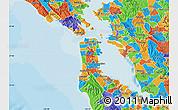 Political Map of ZIP code 94112