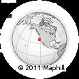 Outline Map of ZIP Code 94116