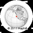 Outline Map of ZIP Code 94128