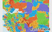Political Map of ZIP code 94509