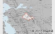 Gray Map of ZIP code 94517