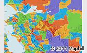 Political Map of ZIP code 94517