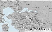Gray 3D Map of ZIP code 94518