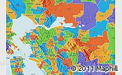 Political Map of ZIP code 94518