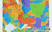 Political Map of ZIP code 94533