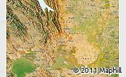 Satellite Map of ZIP code 94533