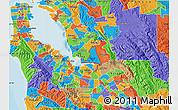 Political Map of ZIP code 94538