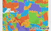 Political Map of ZIP code 94548