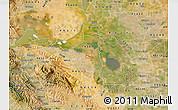 Satellite Map of ZIP code 94548
