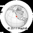 Outline Map of ZIP Code 94548