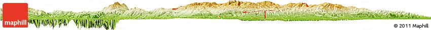 Physical Horizon Map of ZIP Code 94550