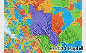 Political Map of ZIP code 94550