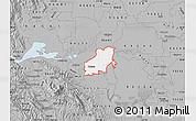 Gray Map of ZIP code 94561