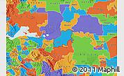Political Map of ZIP code 94561