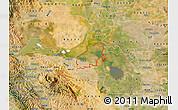 Satellite Map of ZIP code 94561