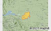 Savanna Style Map of ZIP code 94561