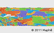 Political Panoramic Map of ZIP code 94561