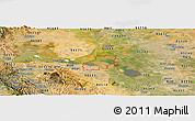 Satellite Panoramic Map of ZIP code 94561