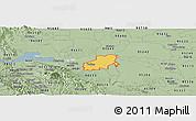 Savanna Style Panoramic Map of ZIP code 94561