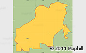 Savanna Style Simple Map of ZIP code 94561
