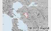 Gray Map of ZIP code 94563
