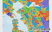 Political Map of ZIP code 94563