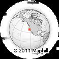 Outline Map of ZIP Code 94563