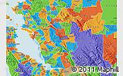 Political Map of ZIP code 94568