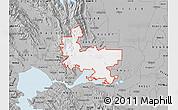 Gray Map of ZIP code 94585