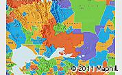 Political Map of ZIP code 94585