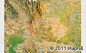 Satellite Map of ZIP code 94585