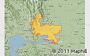 Savanna Style Map of ZIP code 94585