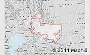 Silver Style Map of ZIP code 94585
