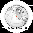 Outline Map of ZIP Code 94585