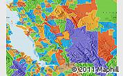 Political Map of ZIP code 94588