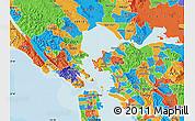 Political Map of ZIP code 94801