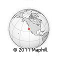 Outline Map of ZIP Code 94801