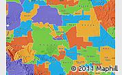 Political Map of ZIP code 95202