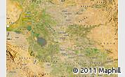 Satellite Map of ZIP code 95202