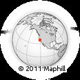 Outline Map of ZIP Code 95202