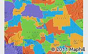 Political Map of ZIP code 95205
