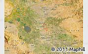 Satellite Map of ZIP code 95205