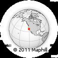 Outline Map of ZIP Code 95205