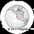 Outline Map of ZIP Code 95207