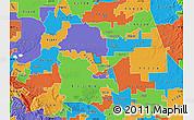 Political Map of ZIP code 95209