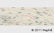 Classic Style Panoramic Map of ZIP code 95219